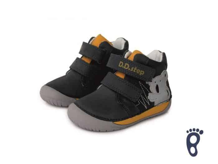 D.D.Step - Prechodné topánky - Royal Blue - Barefoot 5