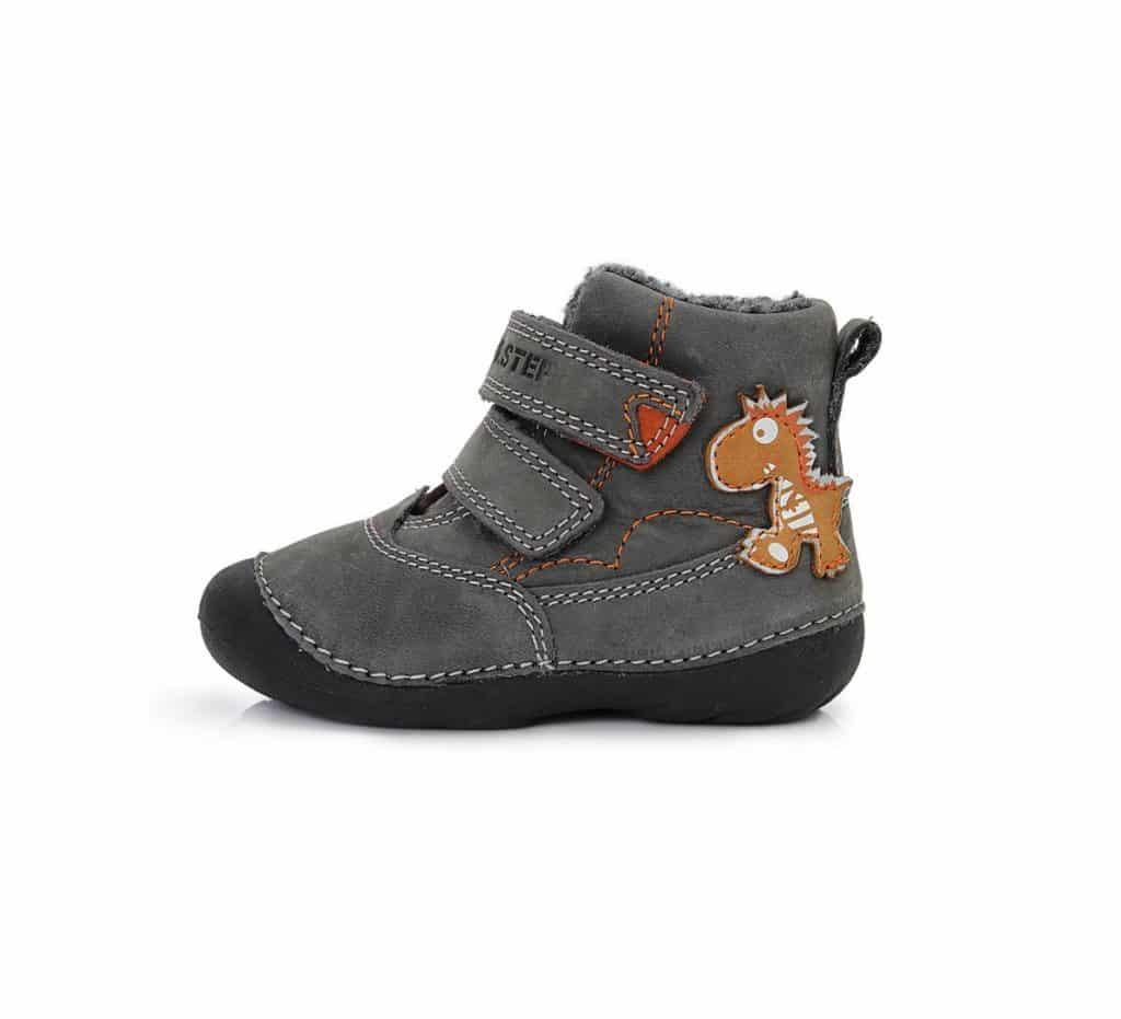 0e421122d484c D.D.Step - Zimné topánky - Dino Grey • Bosáčik
