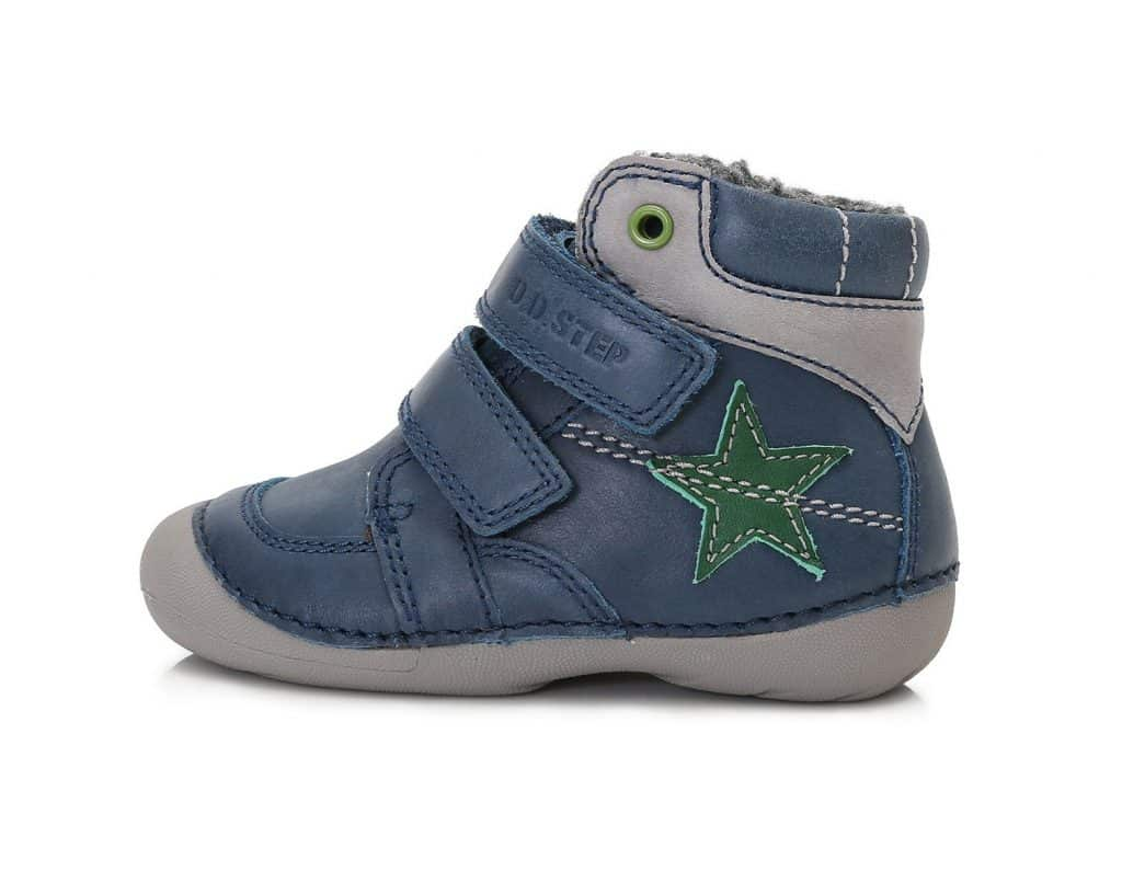 D.D.Step - Zimné topánky - Bermuda Blue - Modré s hviezdou • Bosáčik 14a92c426f