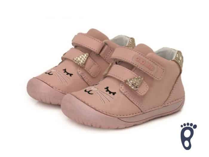 D.D.Step - Prechodné topánky - Baby Pink 2