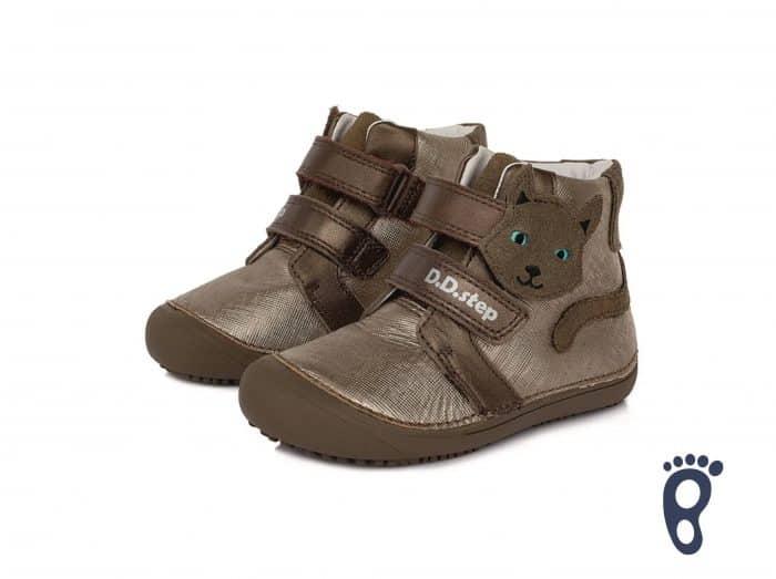 D.D.Step - Prechodné topánky - Chocolat - Mačička 1