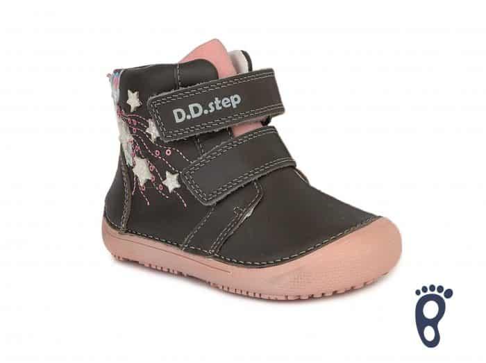 D.D.Step - Prechodné topánky - Dark Pink - Hviezdy 2