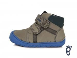 dd step d.d.step prechodne topanky barefoot pre deti grey sive