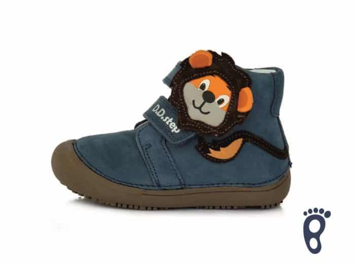 D.D.Step - Prechodné topánky - Royal Blue - Levík 1