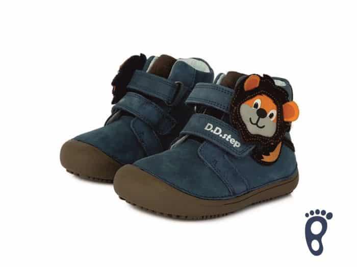 D.D.Step - Prechodné topánky - Royal Blue - Levík 2