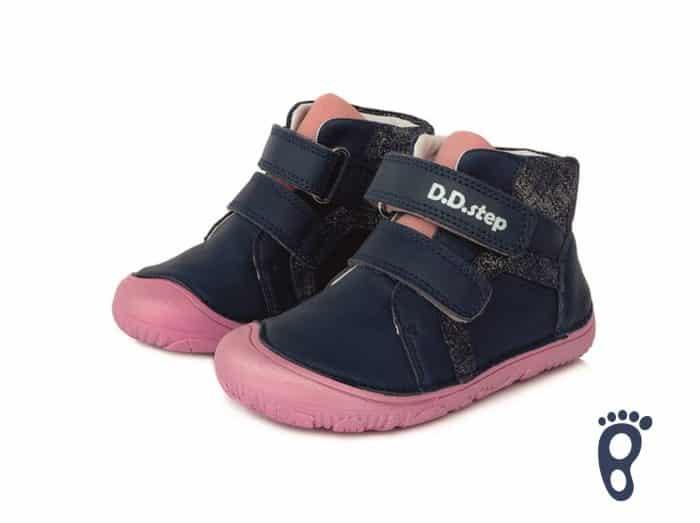 D.D.Step - Prechodné topánky - Royal Blue - Modro - ružové 1