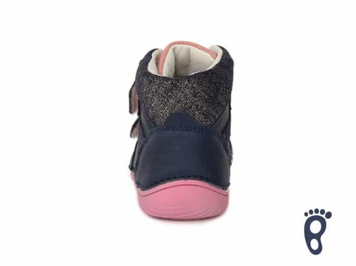 D.D.Step - Prechodné topánky - Royal Blue - Modro - ružové 2