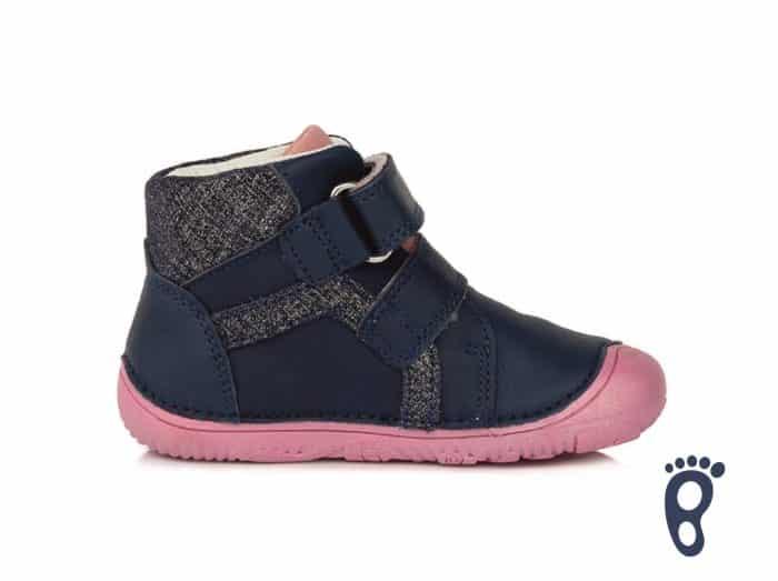 D.D.Step - Prechodné topánky - Royal Blue - Modro - ružové 3