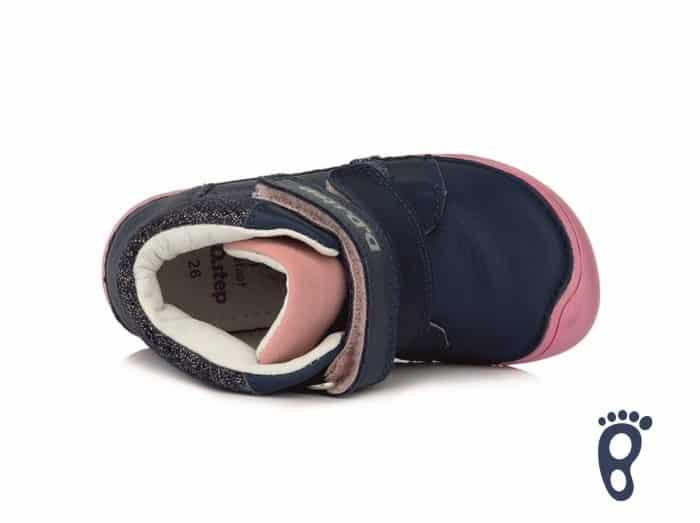 D.D.Step - Prechodné topánky - Royal Blue - Modro - ružové 4
