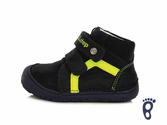 dd step d.d.step prechodne barefoot topanky pre deti detske royal blue reflex