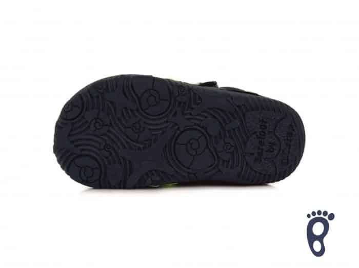 D.D.Step - Prechodné topánky - Royal Blue - Reflex 4