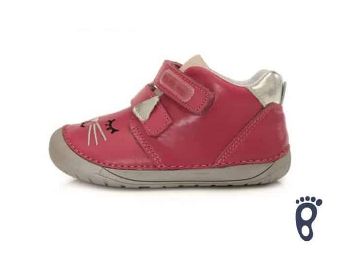 D.D.Step - Prechodné topánky - Dark Pink 1