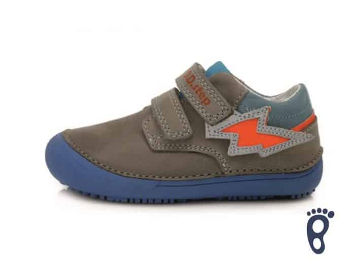 D.D.Step - Prechodné topánky - Grey - Oranžové blesky 1