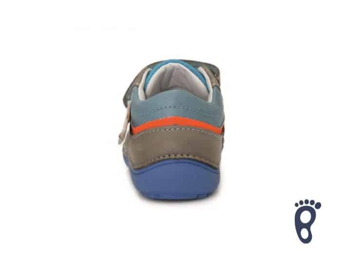 D.D.Step - Prechodné topánky - Grey - Oranžové blesky 3