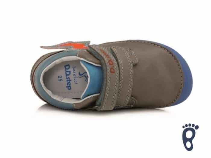 D.D.Step - Prechodné topánky - Grey - Oranžové blesky 5