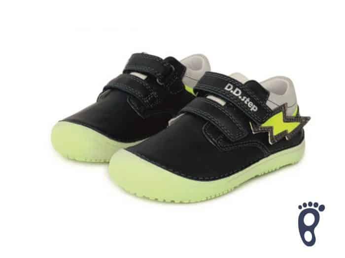 D.D.Step - Prechodné topánky - Royal Blue - Žlté blesky 2