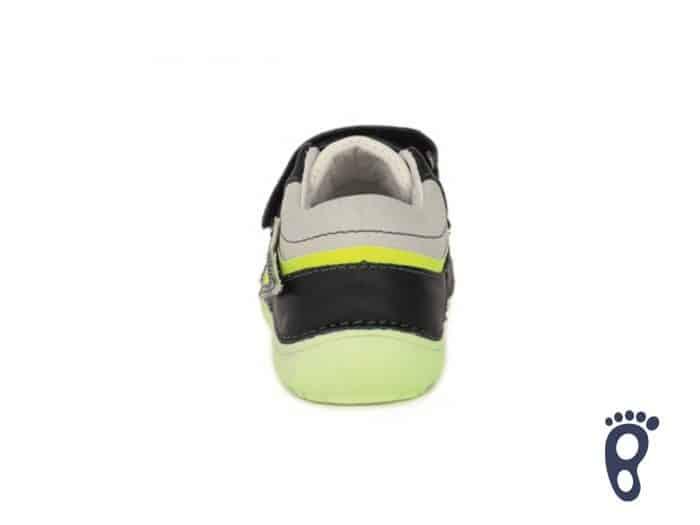 D.D.Step - Prechodné topánky - Royal Blue - Žlté blesky 3