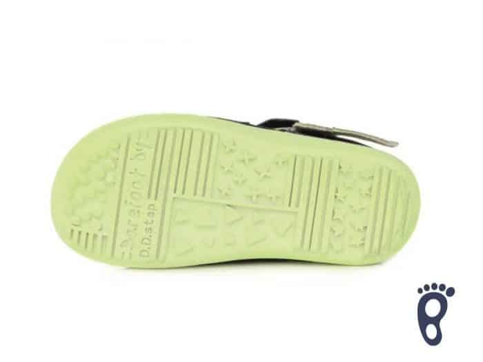D.D.Step - Prechodné topánky - Royal Blue - Žlté blesky 5