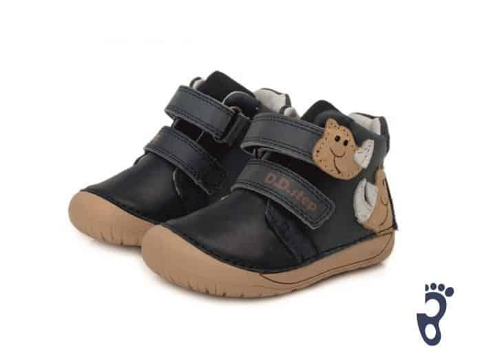 D.D.Step - Prechodné topánky - Royal Blue Dino 2