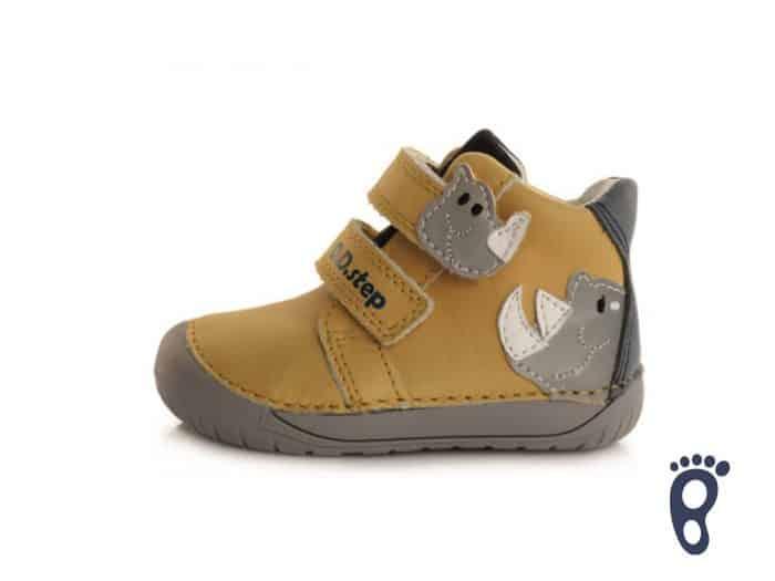 D.D.Step - Prechodné topánky - Yellow Dino 1