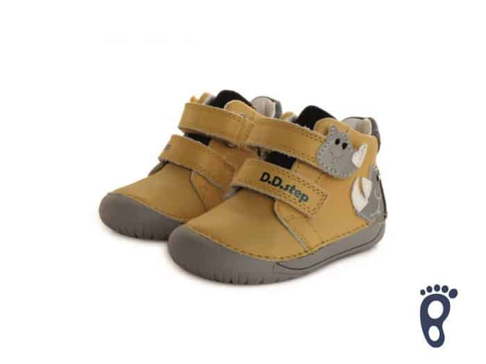 D.D.Step - Prechodné topánky - Yellow Dino 2