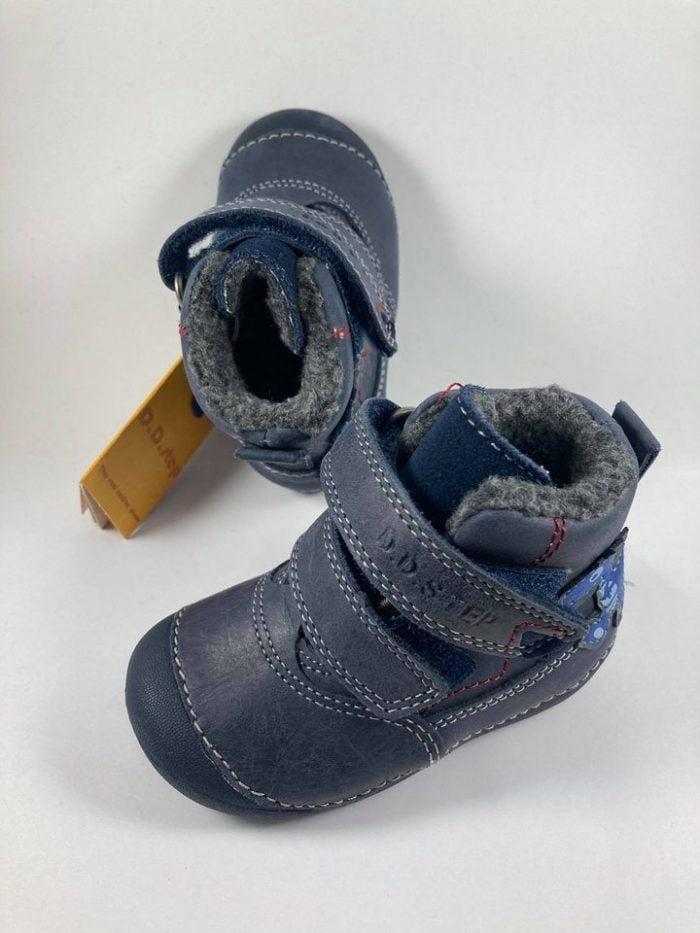 D.D.Step - Zimné topánky - Dino Blue 1