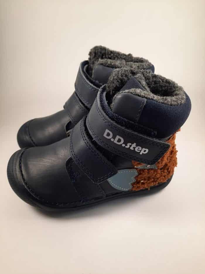 D.D.Step - CHYBNÝ KUS - Zimné topánky - Royal Blue - Fox 1