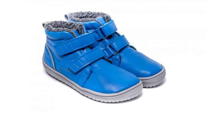 Detské zimné barefoot topánky Be Lenka Penguin - Blue 1