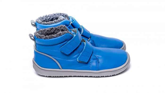 Detské zimné barefoot topánky Be Lenka Penguin - Blue 2