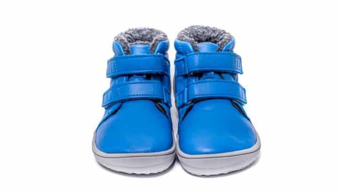 Detské zimné barefoot topánky Be Lenka Penguin - Blue 3