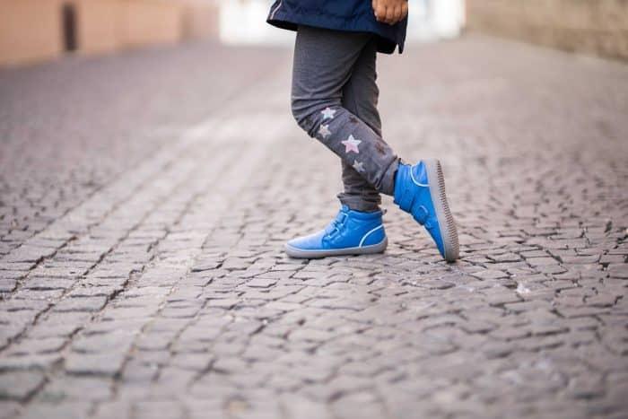 Detské zimné barefoot topánky Be Lenka Penguin - Blue 4
