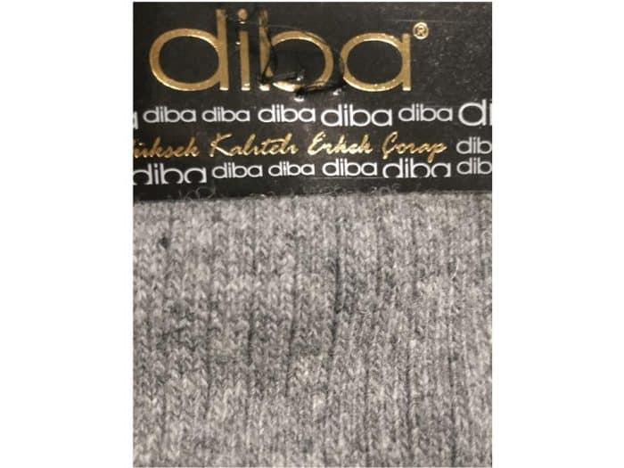 Diba - Pánske vlnené ponožky - Sivé 1