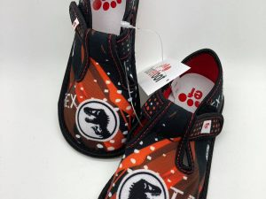 ef chlapcenske papucky barefoot dino