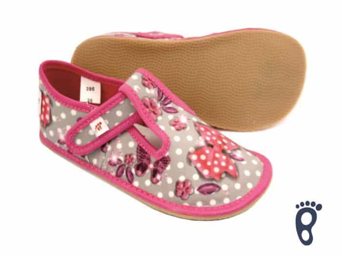 Ef - Dievčenské papučky - Butterfly 1