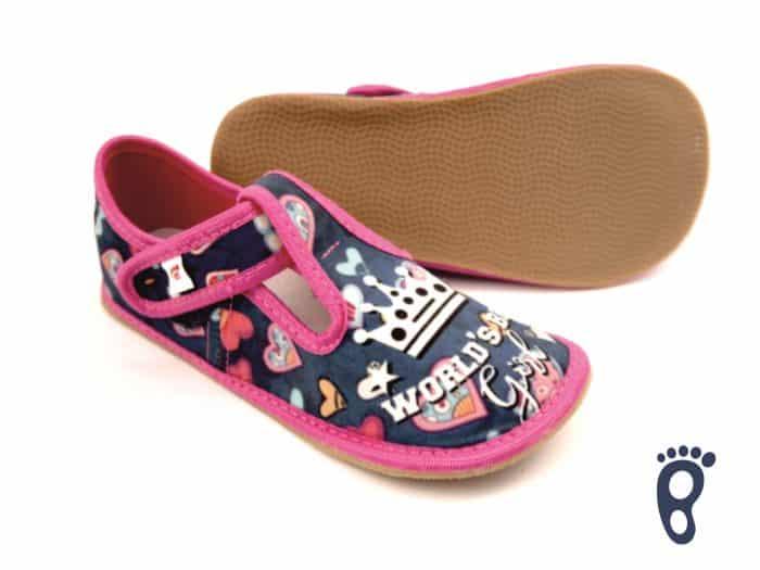Ef - Dievčenské papučky - World Girl 1