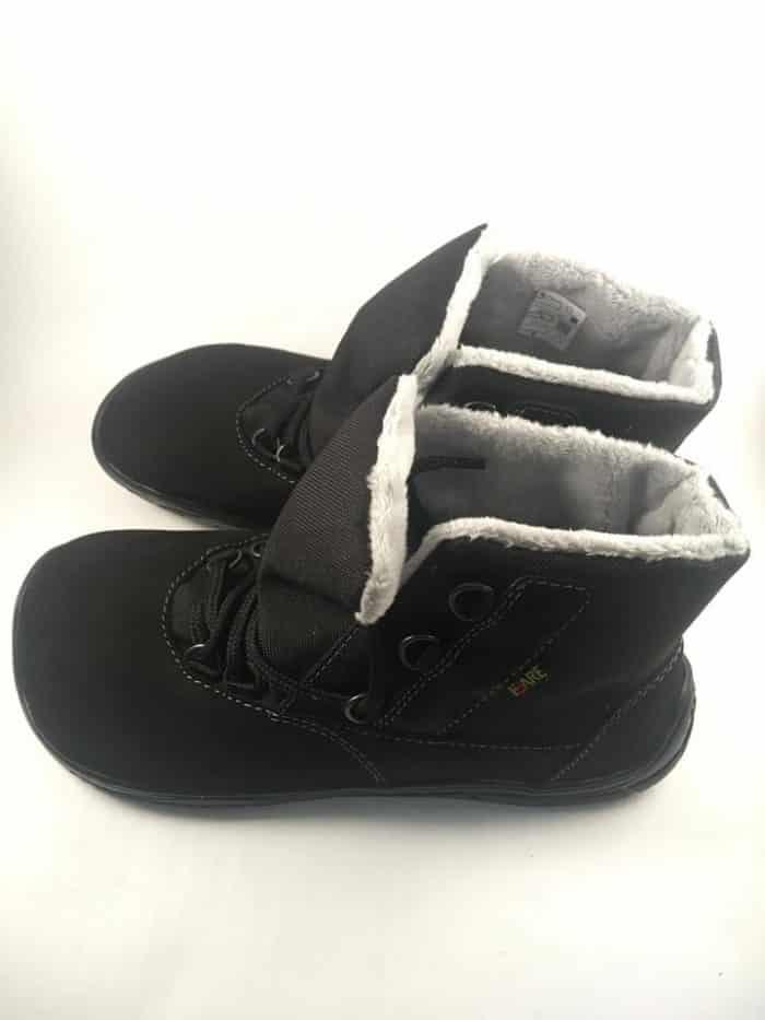Fare Bare - Zateplené topánky - Čierne s membránou 1