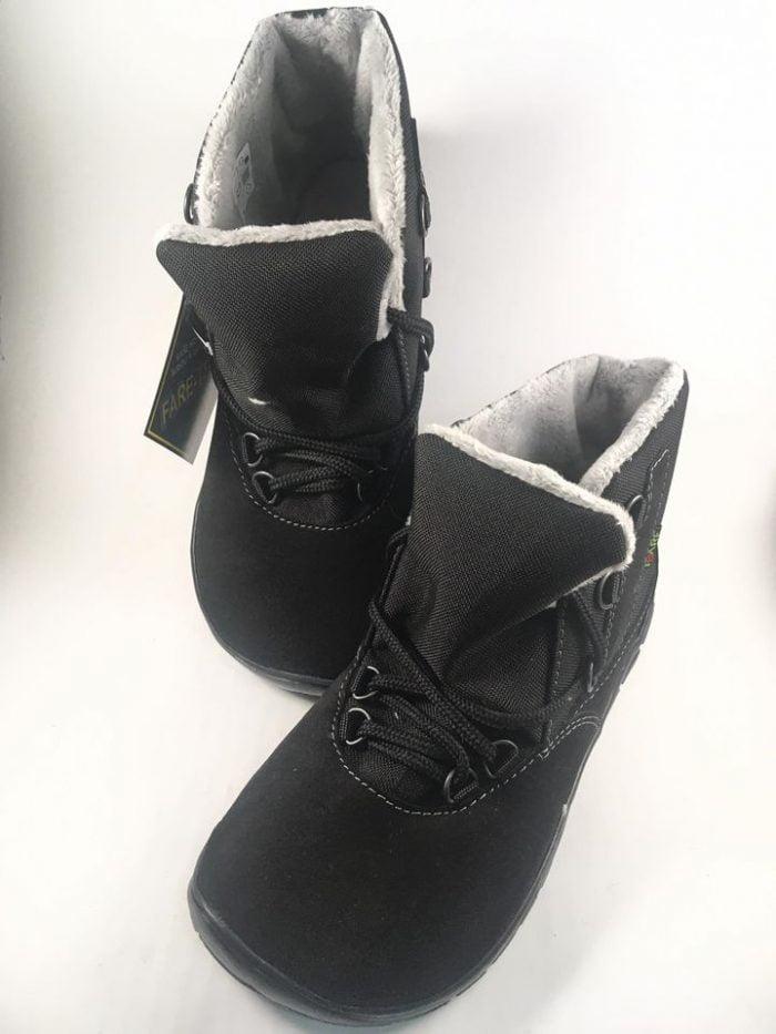 Fare Bare - Zateplené topánky - Čierne s membránou 2