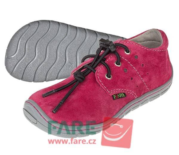 Fare Bare - Dievčenské celoročné topánky - s brzdičkou 1