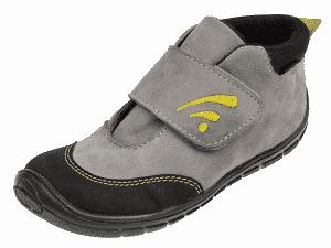 Fare Bare – Prechodné chlapčenské topánočky – Šedé so znakom – zateplené ecfd0ef1bc