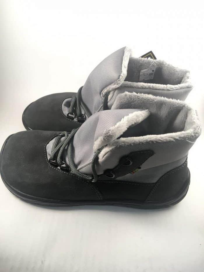 Fare Bare - Zateplené topánky - Sivé s membránou 1
