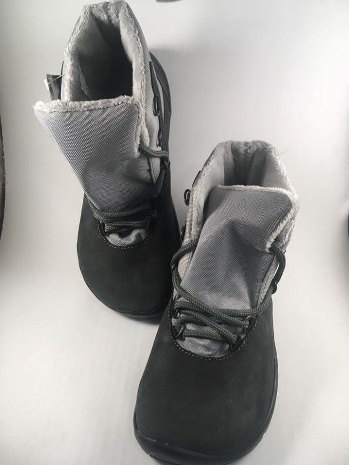 Fare Bare - Zateplené topánky - Sivé s membránou 2