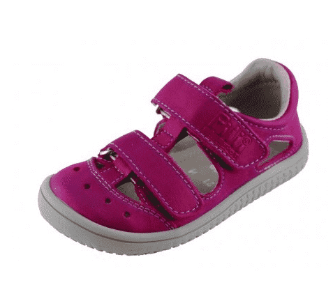 filii kaiman sandaly vegan textile pink m