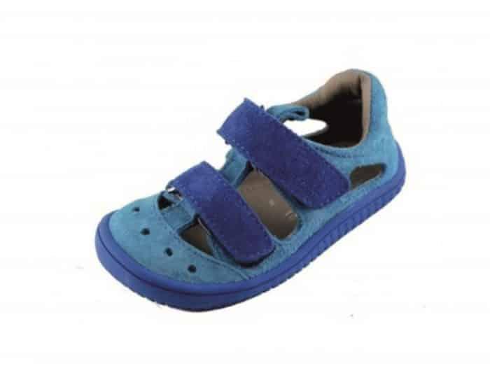 filii barefoot kaiman  velcro velours turquoise blue m