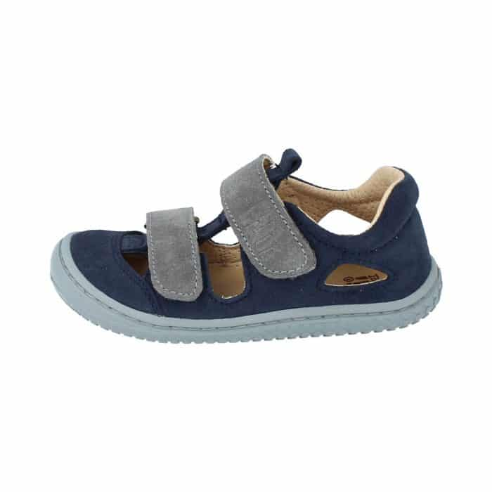 Filii - Kaiman - Velours Leather Ocean Velcro M - New 1
