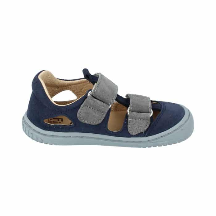 Filii - Kaiman - Velours Leather Ocean Velcro M - New 2