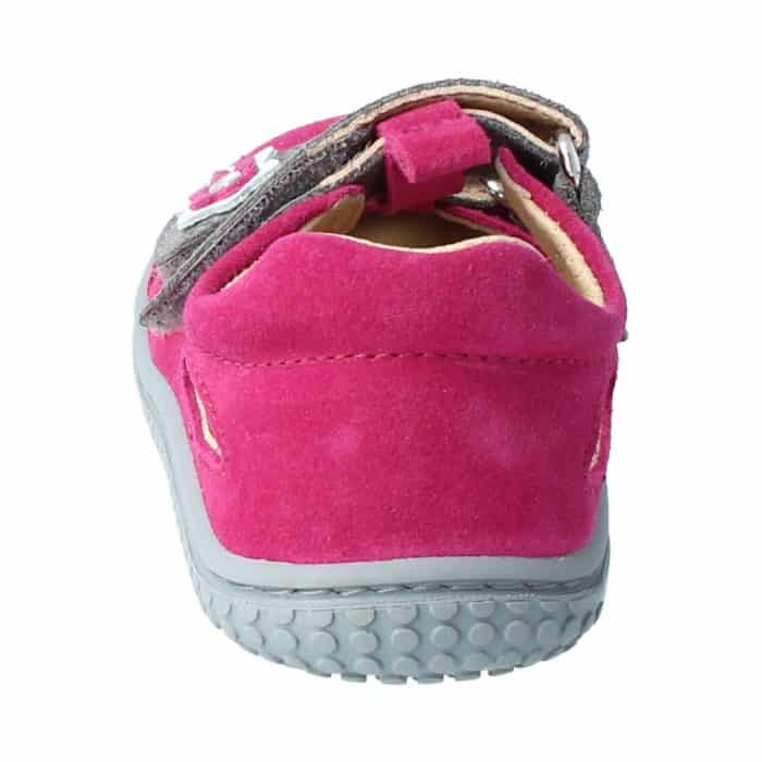 Filii - Kaiman - Velours Leather Pink Velcro M - New 4