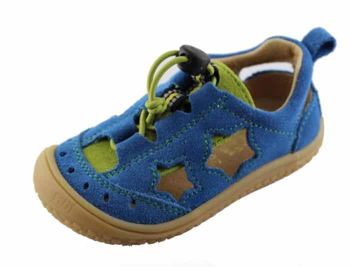 filii sandalky electric blue vegan snurky