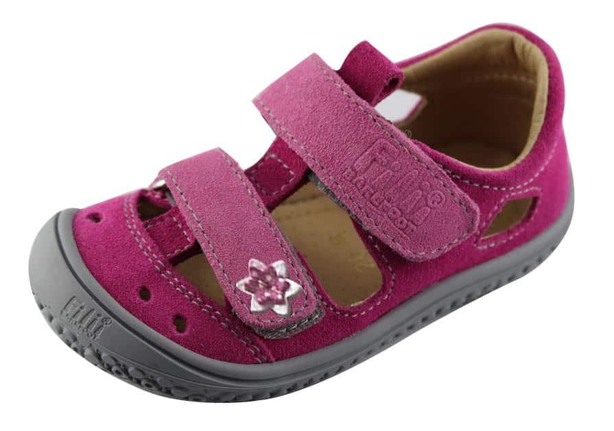 Filii - Sandals - Pink Rose Flower - M • Bosáčik 7e617fd269