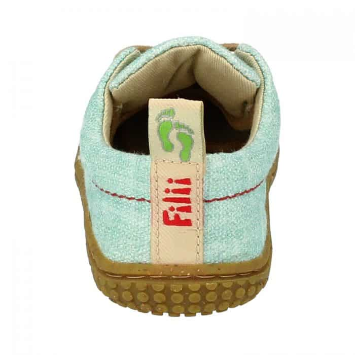 Filii - SOFTWAY - BIO GOTS TEXTIL - MINT - šnúrky - M 3