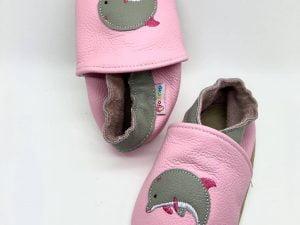 footstep capacky kozene barefoot detske delfin dievcenske prve kroky